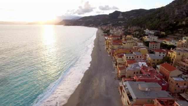 Town of Varigotti in Italy video