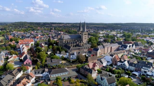 Town of Xanten in the Lower Rhine Region
