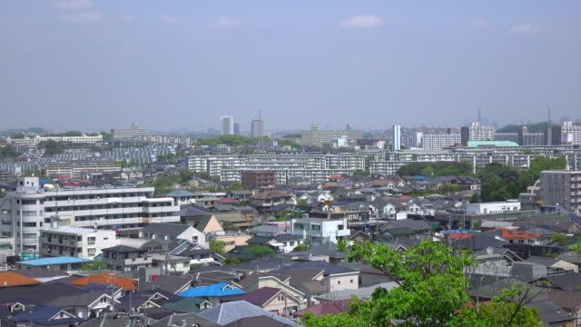 タウンの眺め屋根-4 k - 屋根点の映像素材/bロール