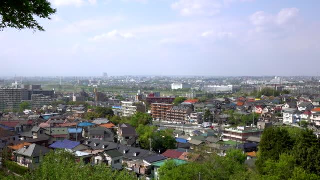 タウンの眺め屋根-4 k - 絶景点の映像素材/bロール
