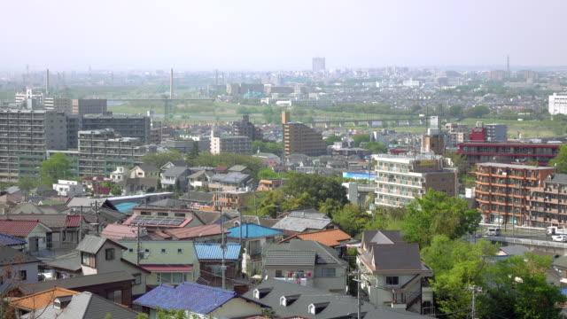城鎮視圖的屋頂-4 k- - 非都市風光 個影片檔及 b 捲影像