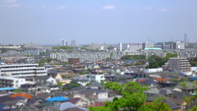 タウンの眺め屋根バルク 2 ~4 k - 地域点の映像素材/bロール