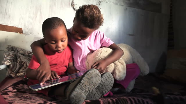 Township kids reading video