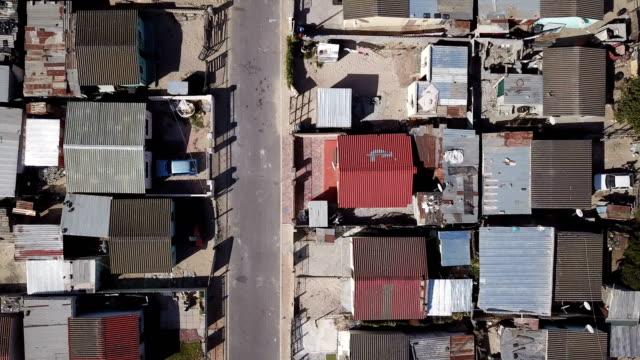 ケープタウンのタウンシップ スラム - 南アフリカ共和国点の映像素材/bロール
