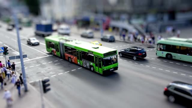 Toy city life video