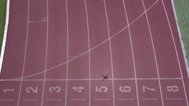 Pista de atletismo - vídeo