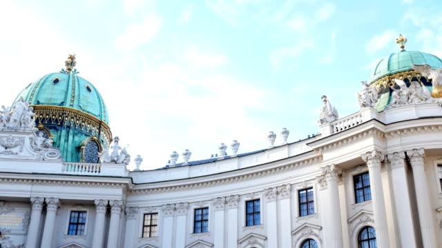 トラッキング ショット パレス ウィーン - 城点の映像素材/bロール