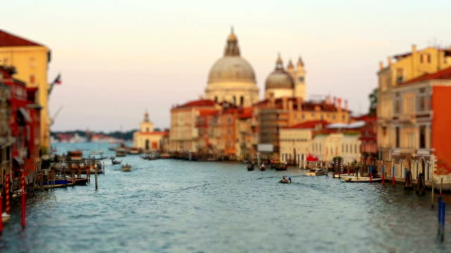 Tracking Shot Traffic on the Grand Canal (Canale Grande) video