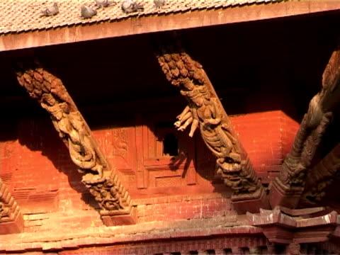 Traditional Building at Patan Durbar Square video