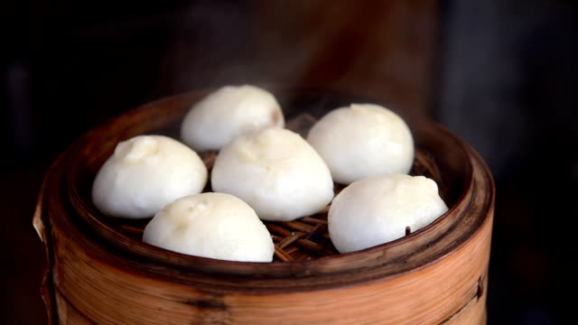 traditional chinese food, dumpling video