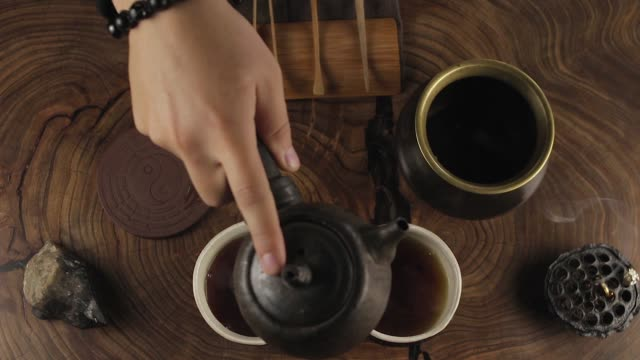 traditional Chinese tea brewing traditional Chinese tea brewing china east asia stock videos & royalty-free footage