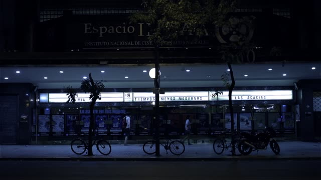 Traditional Cinema In Buenos Aires (Argentina).