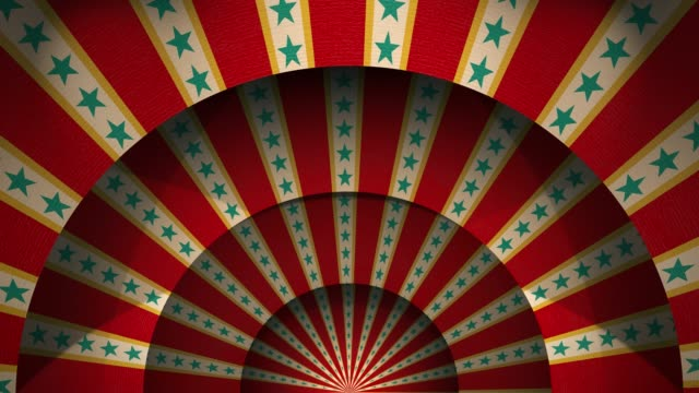 traditional circus background pattern - circus стоковые видео и кадры b-roll