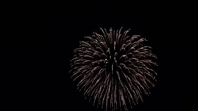 日本の伝統的な花火 - 花火点の映像素材/bロール