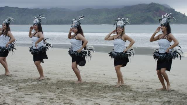 Traditional Hawaiian Hula Dancers video
