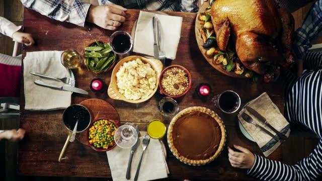傳統節日餡火雞大餐 - pumpkin pie 個影片檔及 b 捲影像
