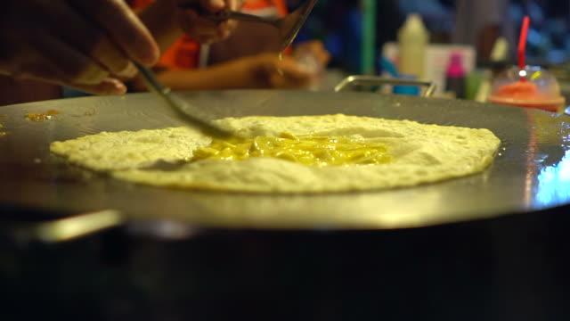 Comida tradicional de la India - vídeo