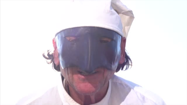 Traditional Italian Mask video
