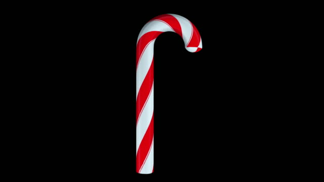 Traditional striped christmas candy, computer generated. Christmas and New Year celebration concept, 3d rendering