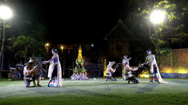 4K Traditional Thai Dance Show
