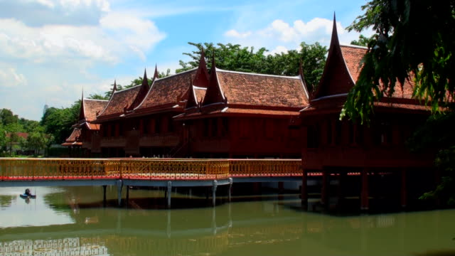 Traditional Thai Houses - Bangkok, Thailand video