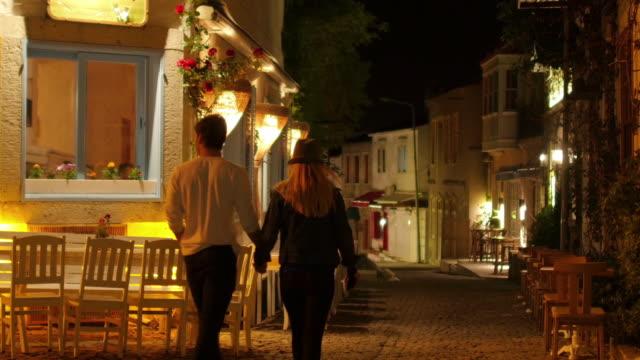 Traditional Turkish houses, travel destination, Alacati, Cesme, Turkey video
