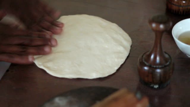 traditional way for making flat bread video
