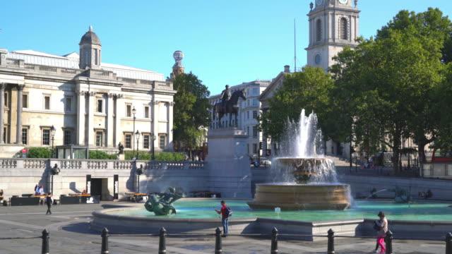 trafalgar square in London, United Kingdom