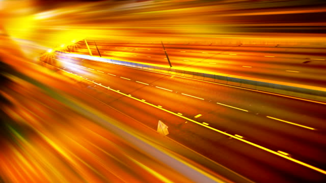 Traffic abstract background video