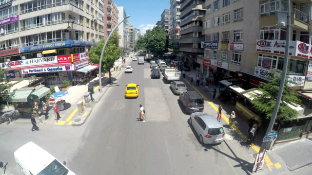 verkehr chaos - ankara türkei stock-videos und b-roll-filmmaterial