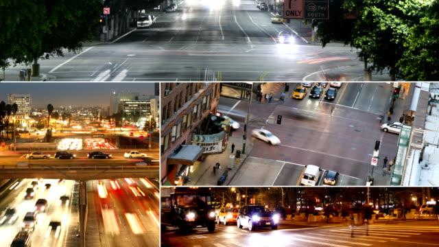 Traffic Collage video
