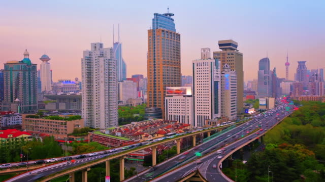 Traffic from Shanghai. video