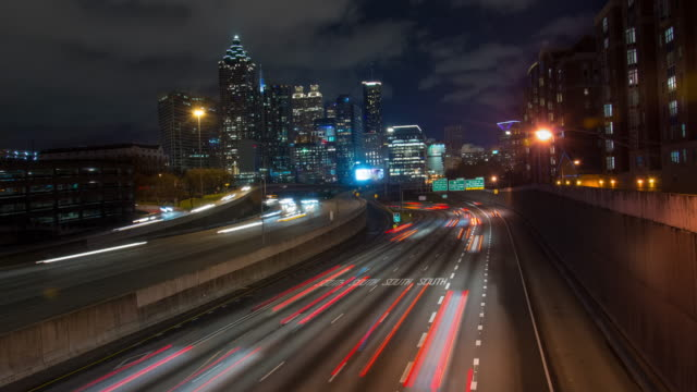 T/L 6K Traffic in Atlanta video