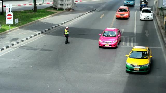Tráfico en Bangkok - vídeo