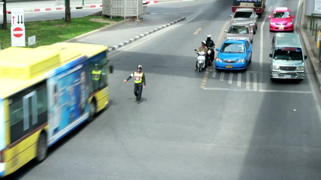 traffic in bankok - travel agent stock videos and b-roll footage