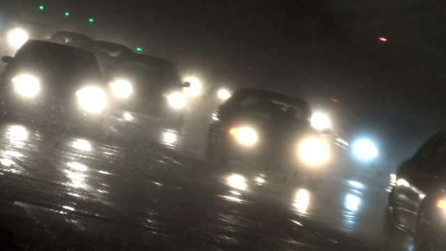 Traffic in Blizzard, Canted 2 video