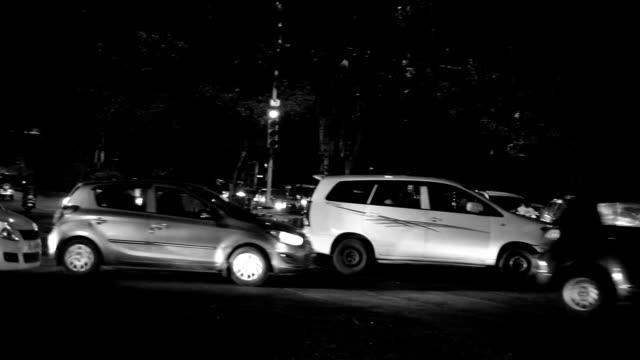Traffic In Delhi/India video