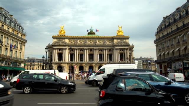 Verkehr in Paris, Zeitraffer – Video