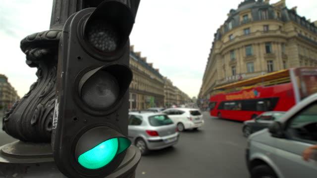Traffic in Paris, Time Lapse