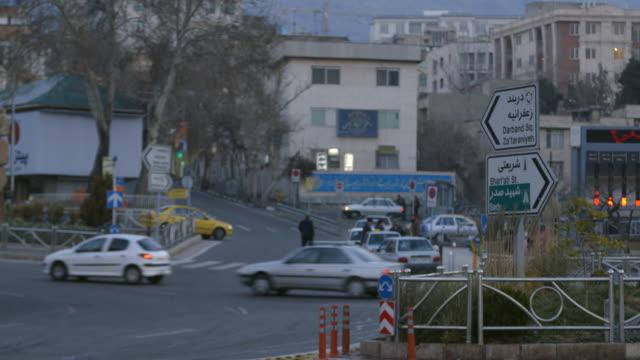 交通在德黑蘭 - 德黑蘭 個影片檔及 b 捲影像
