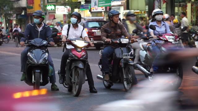 Traffic in Vietnam video