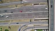 istock Traffic interchange Mostar in Belgrade, Serbia, aerial view drone shot 06 1288607103