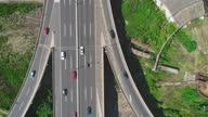 istock Traffic interchange Mostar in Belgrade, Serbia, aerial view drone shot 05 1288607459