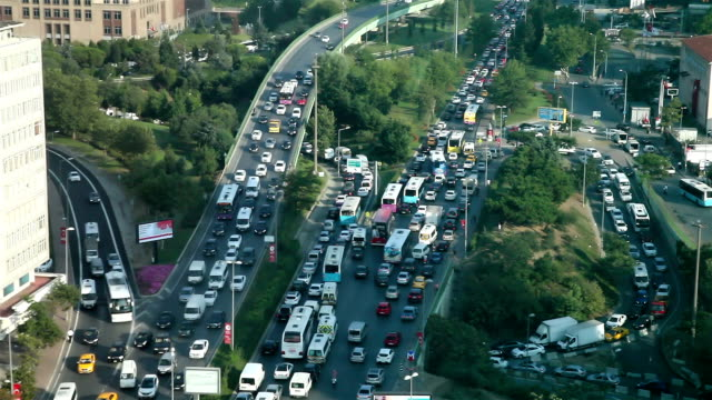 Traffic Jam in Istanbul video