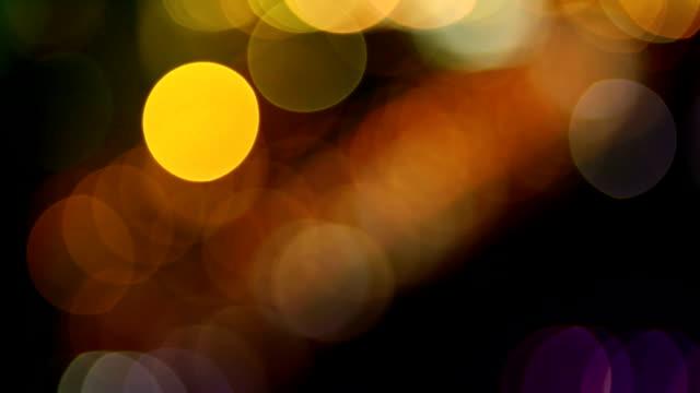 Traffic light blur video