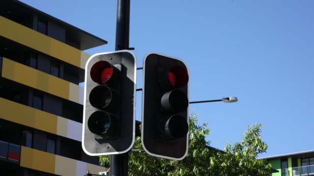 Traffic Light Sequence Time Lapse