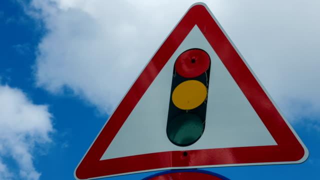 Traffic Light Sign Time Lapse