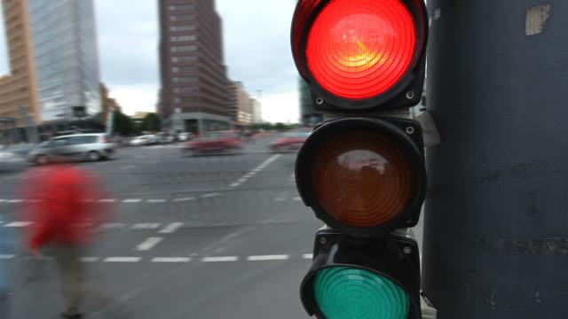 traffic light - time lapse