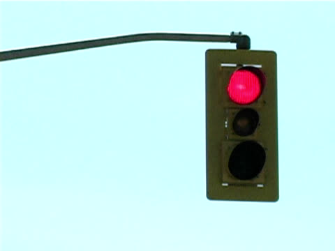 交通信号  - 交通信号機点の映像素材/bロール