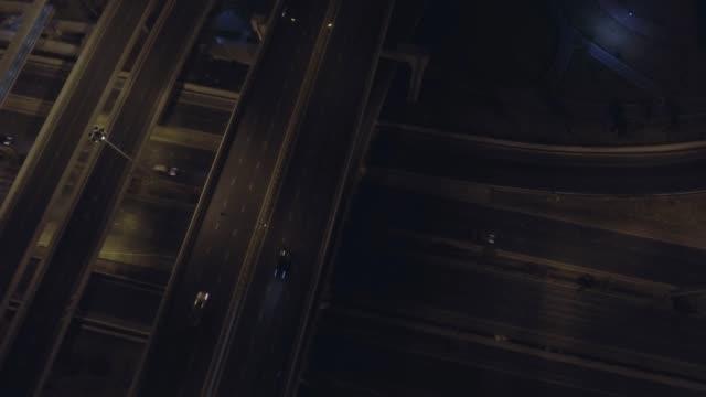 trafik natt - hollywood sign bildbanksvideor och videomaterial från bakom kulisserna